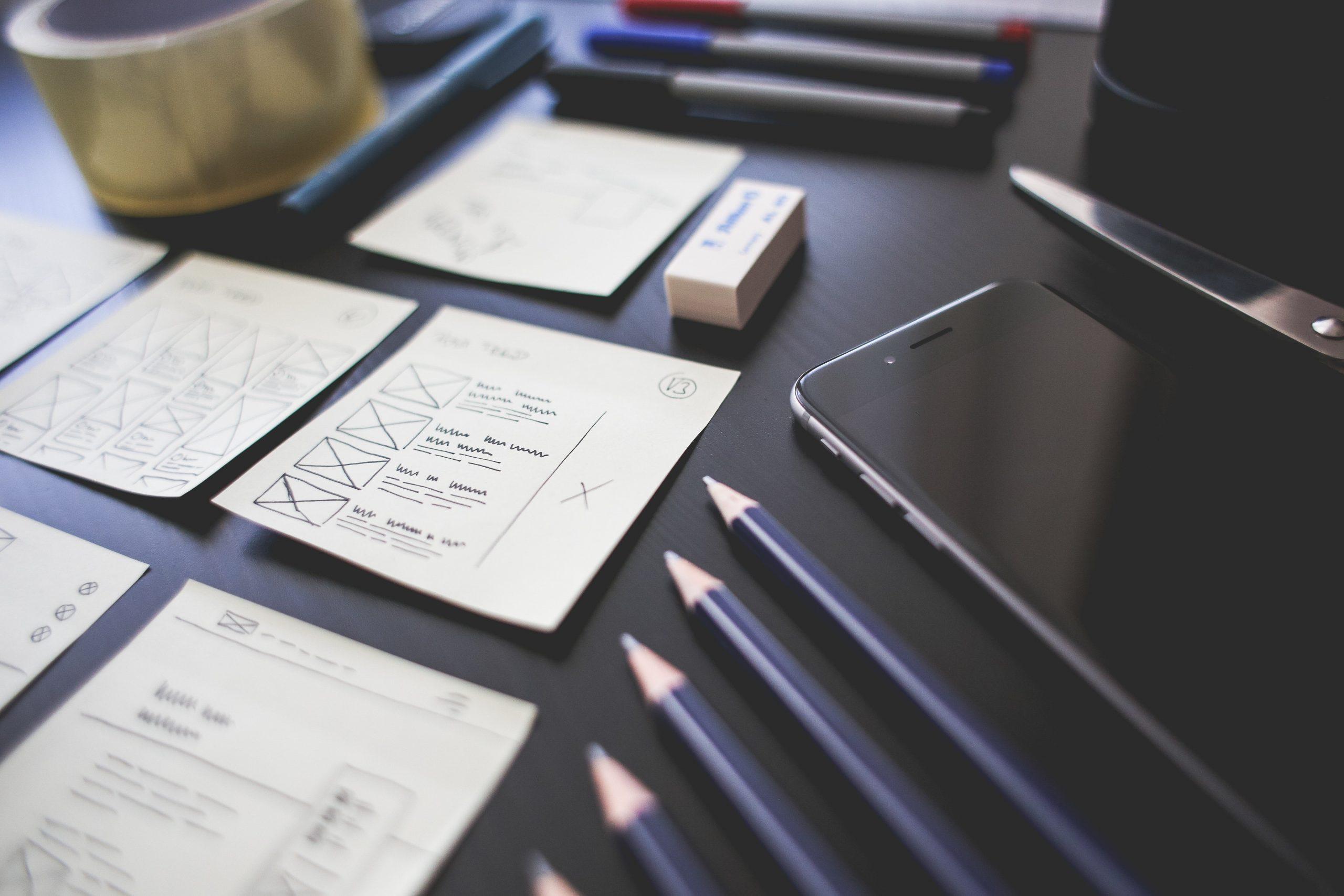 Empresa organizando os modelos de planejamento