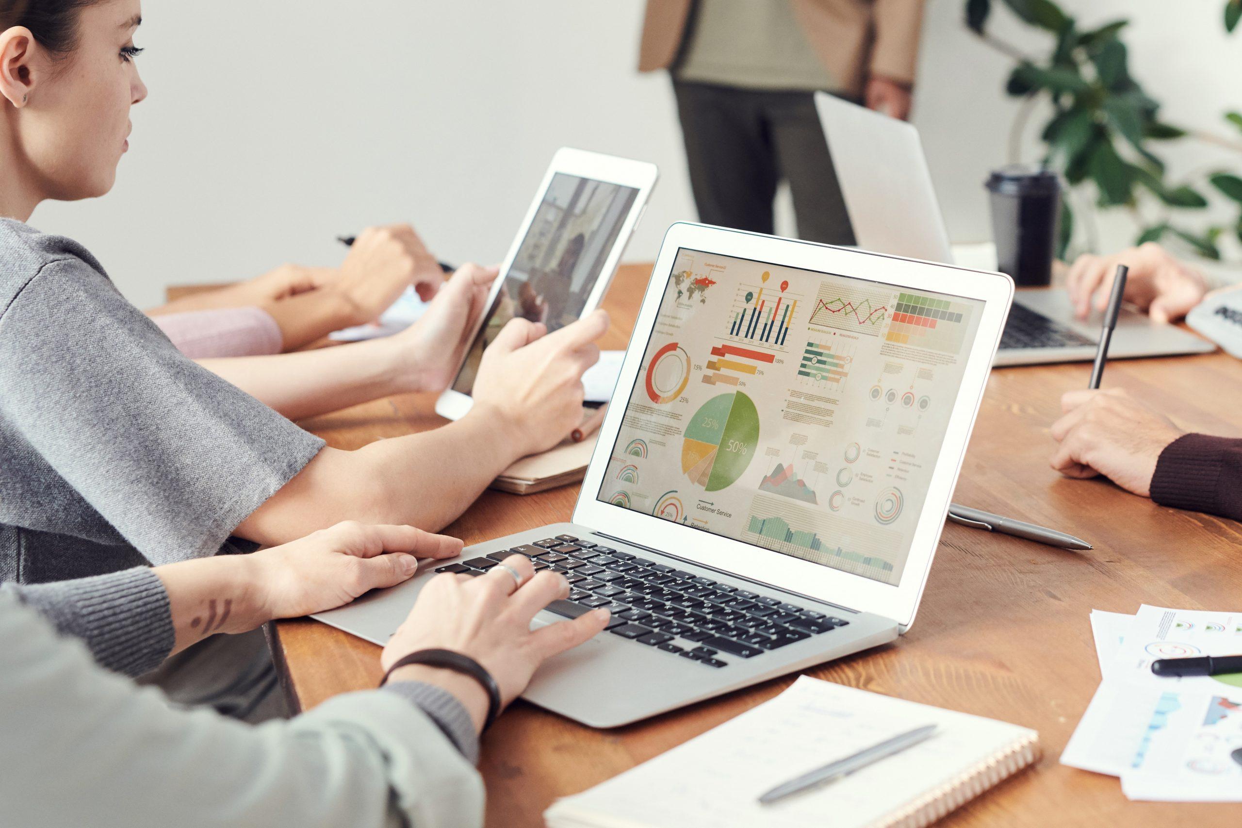 Empresa se organizando com o estudo de viabilidade